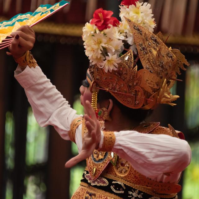 """Balinese Dancer"" stock image"