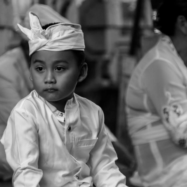 """Balinese Boy"" stock image"