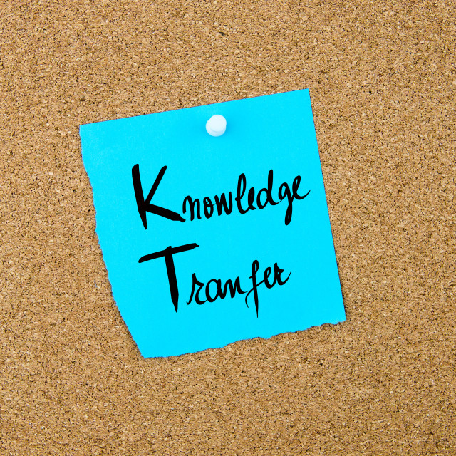 """""""Business Acronym KT as Knowledge Transfer"""" stock image"""