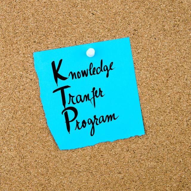 """Business Acronym KTP Knowledge Transfer Program"" stock image"