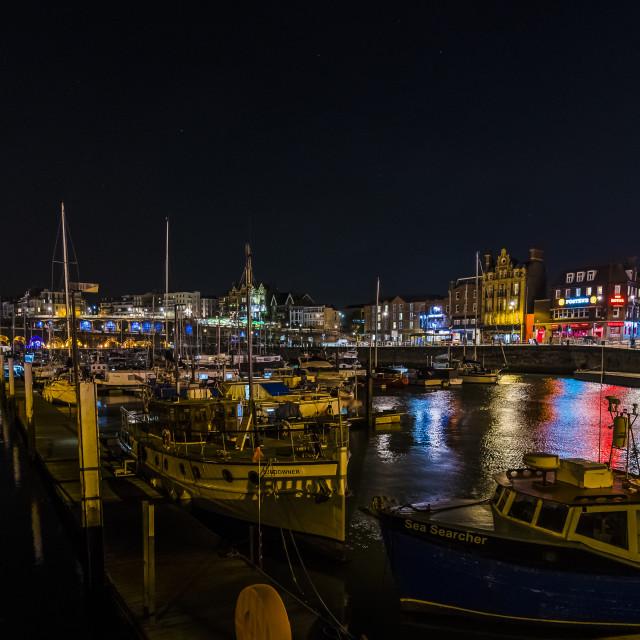 """""""Ramsgate Harbour Kent"""" stock image"""