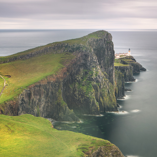 """""""Lighthouse - Scotland"""" stock image"""