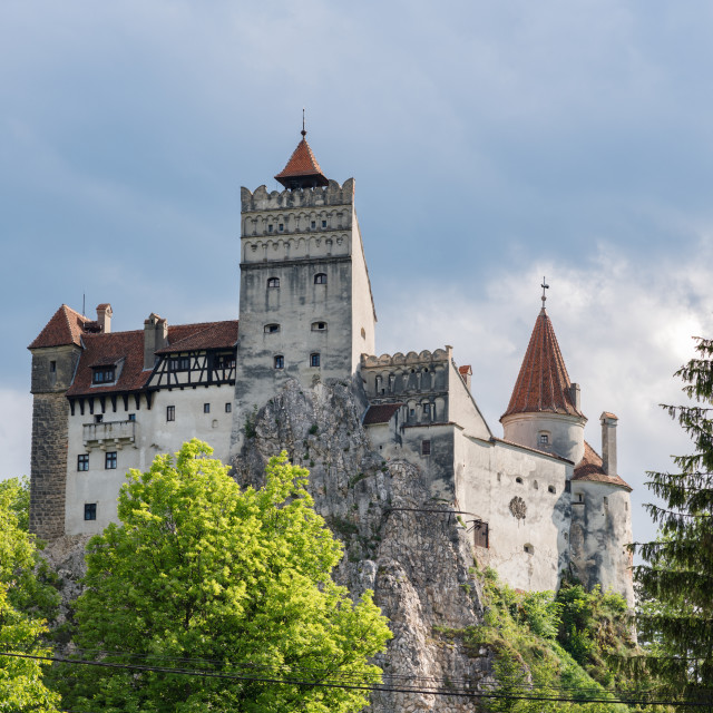 """Bran Castle (Dracula's castle), Brasov, Romania"" stock image"