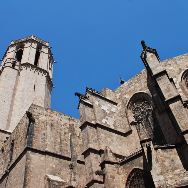 """Barcelona Cathedral, Spain"" stock image"