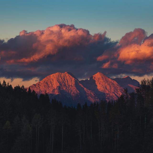 """Landscape from Julian Alps, Slovenia."" stock image"