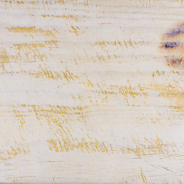 """""""White painted scratched wood"""" stock image"""
