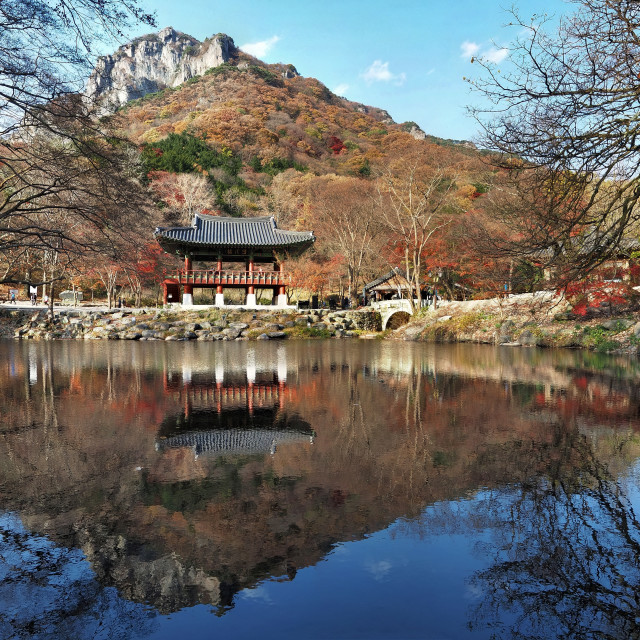 """Naejangsan National Park, South Korea"" stock image"