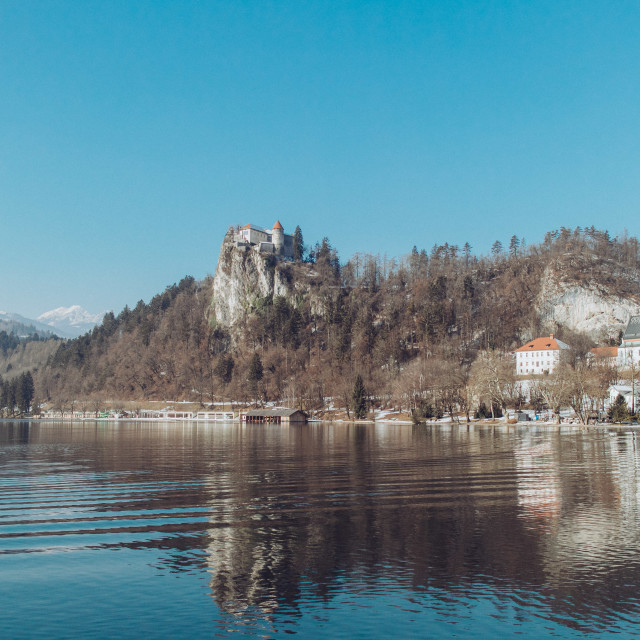 """Castle Bled"" stock image"