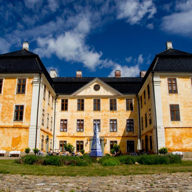 """Christinehof Castle, Sweden"" stock image"