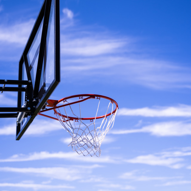 """Basketball Hoop!"" stock image"
