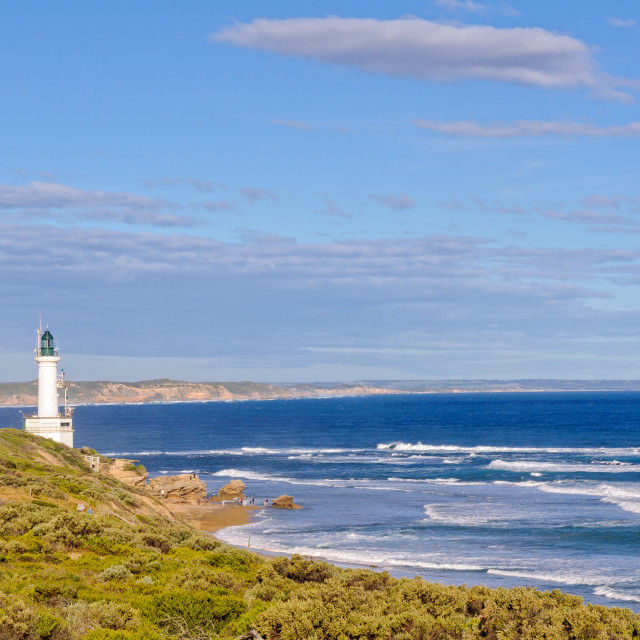 """""""Lighthouse - Point Lonsdale"""" stock image"""