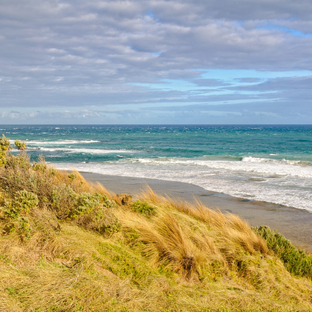"""""""Surf beach - Point Lonsdale"""" stock image"""
