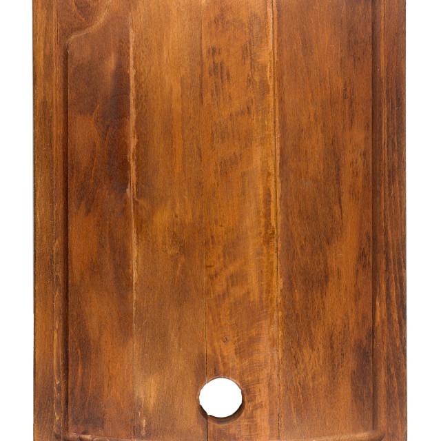 """Wood kitchen cutting board"" stock image"