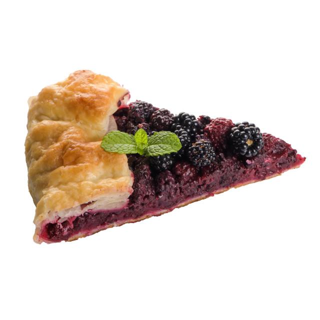 """""""Homemade pie"""" stock image"""