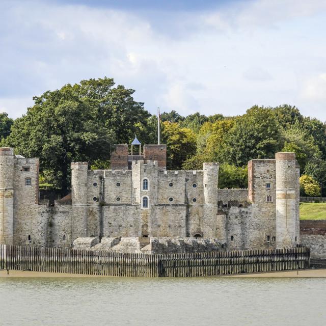 """Upnor Castle Kent"" stock image"