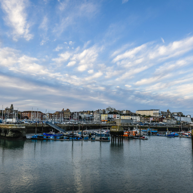 """""""The Royal Harbour Ramsgate"""" stock image"""
