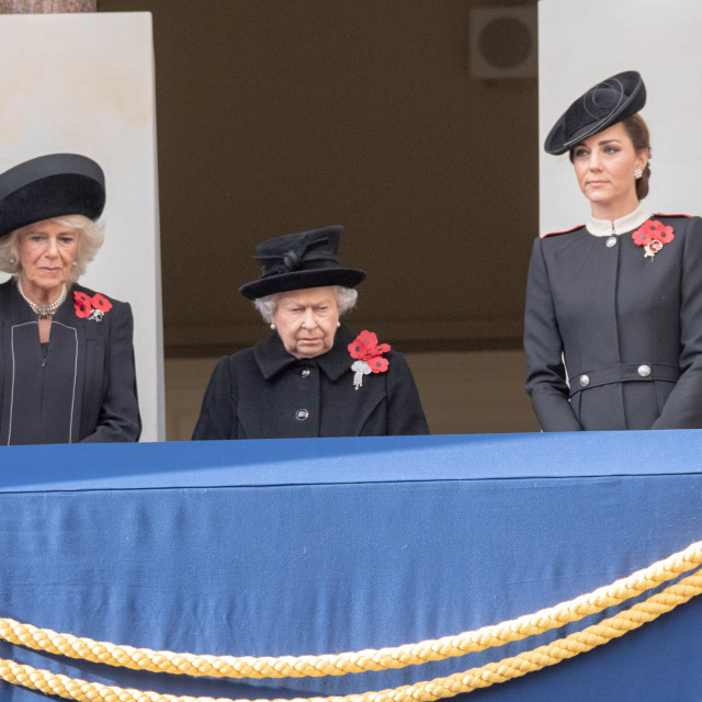 """""""The National Service of Remembrance at the Cenotaph London"""" stock image"""