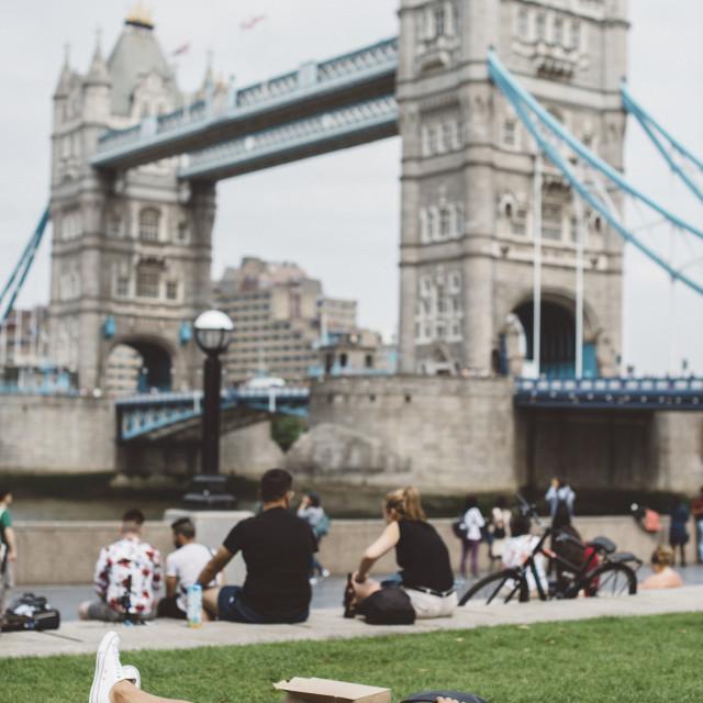 """More London"" stock image"