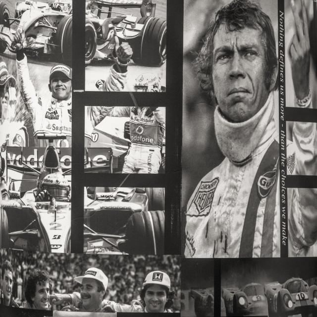 """Racing."" stock image"