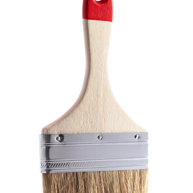 """""""Paintbrush isolated on white background"""" stock image"""