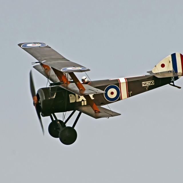 """Sopwith Triplane 1916"" stock image"