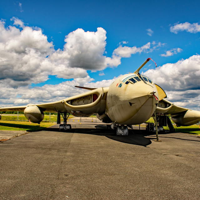 """Handley-Page Victor K2 Lusty Lindy"" stock image"
