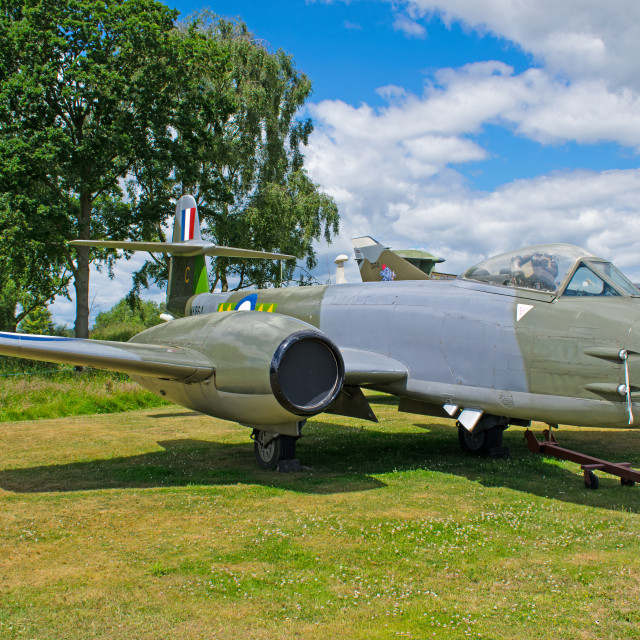 """Gloster Meteor F8"" stock image"