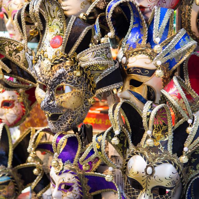 """Masquerade Masks"" stock image"