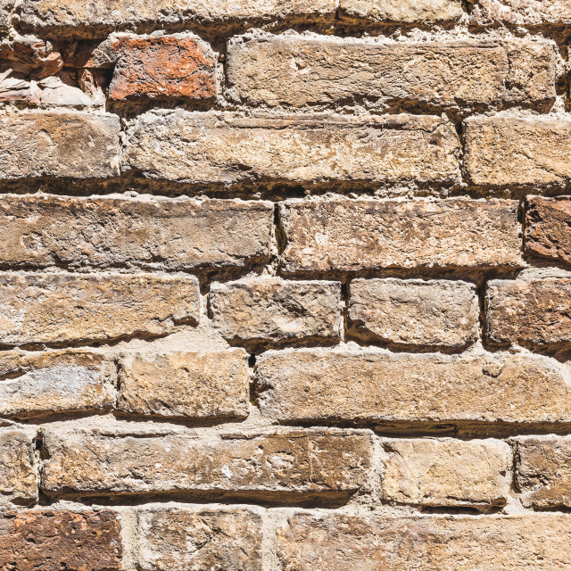 """""""Texture of a wall made from bricks"""" stock image"""