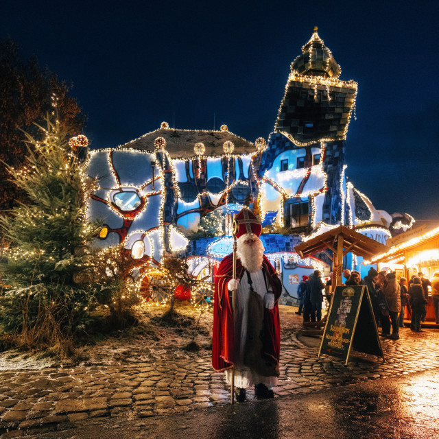 """Saint Nicholas in Abensberg"" stock image"