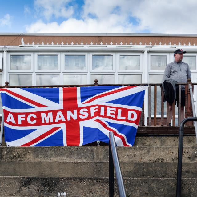 """AFC Mansfield Football Club,UK."" stock image"