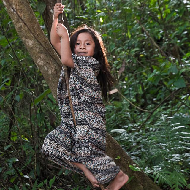 """""""Climbing tree"""" stock image"""