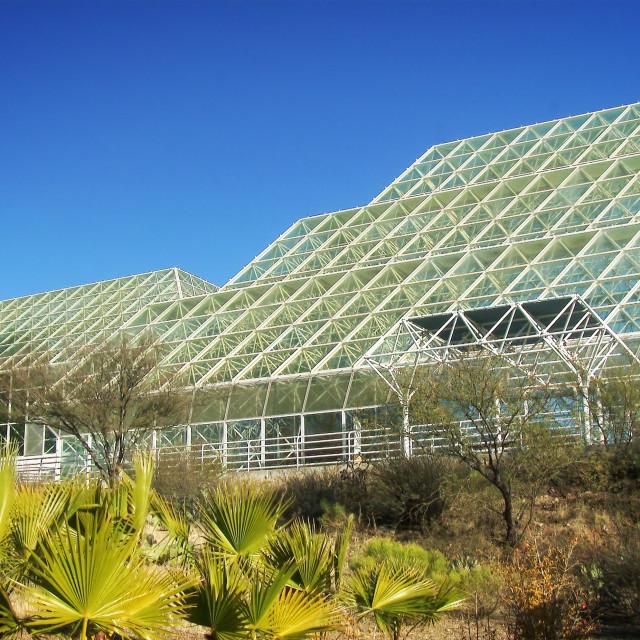 """""""Biosphere 2"""" stock image"""