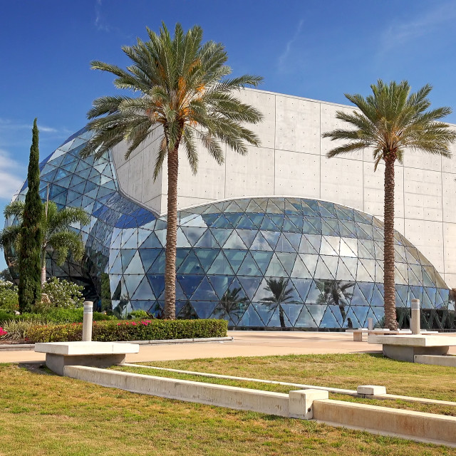 """Salvador Dali Museum Exterior in St Petersburg, Florida"" stock image"