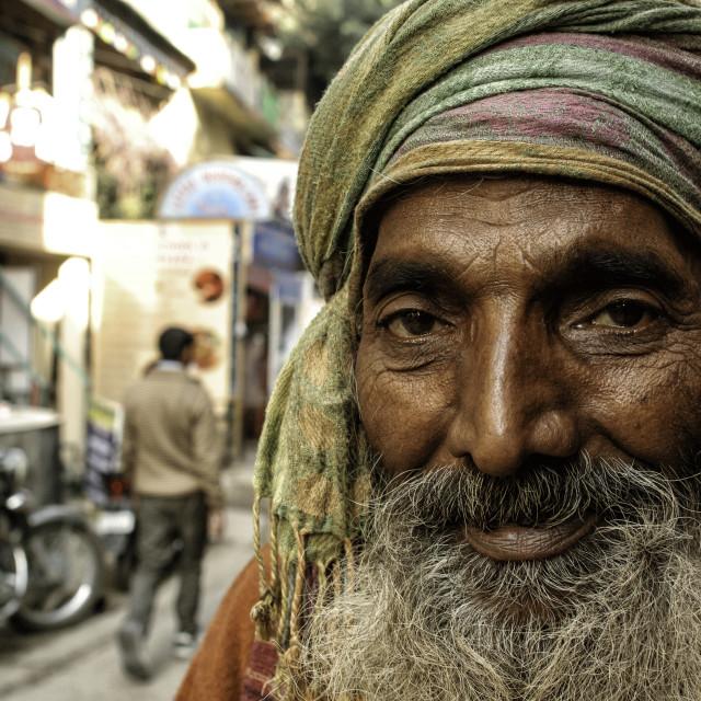 """Sadhu Portrait II"" stock image"