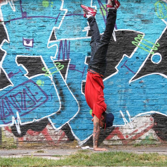 """Breakdance"" stock image"