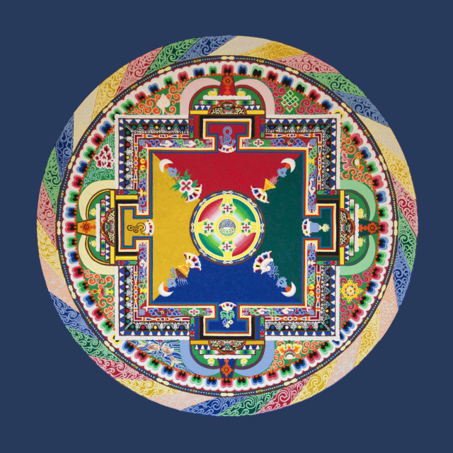 """Saraswati Sand Mandala"" stock image"