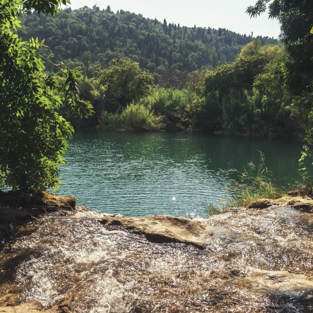 """Krka National Park in Croatia"" stock image"