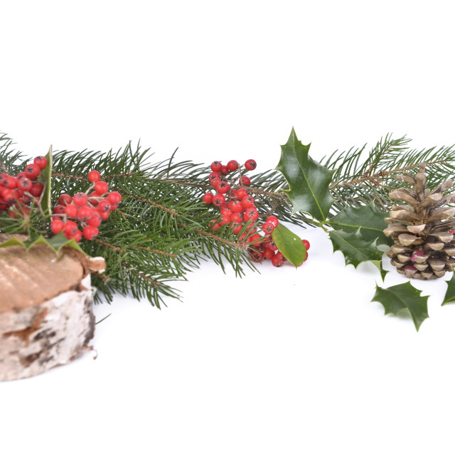 """christmas decoration background"" stock image"
