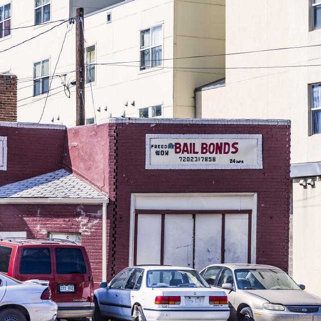 """Freedom Now Bail Bonds"" stock image"