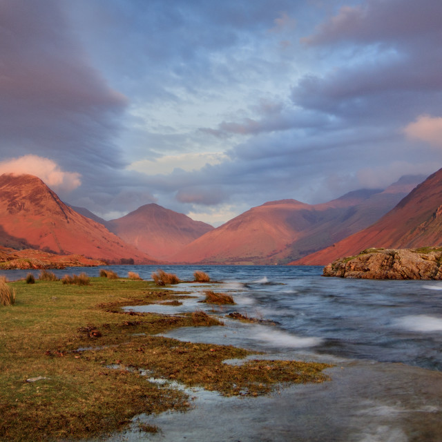 """""""Wastwater Winds"""" stock image"""