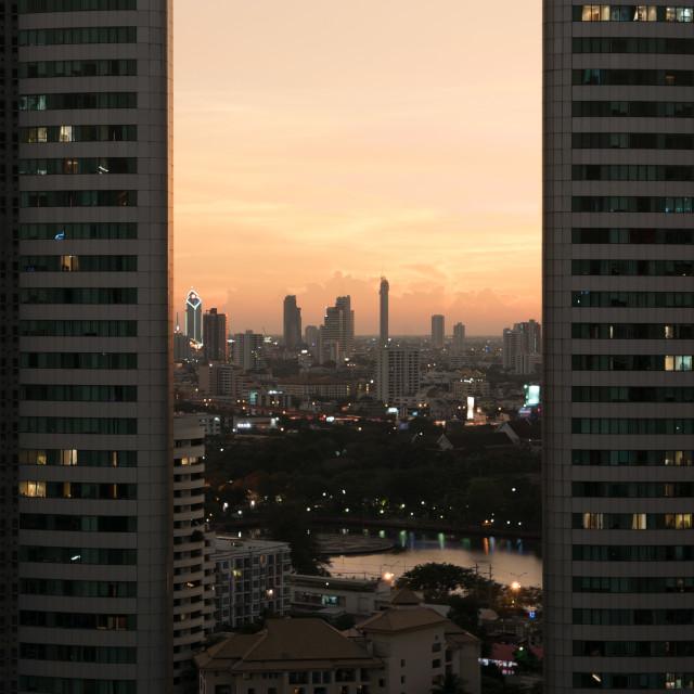 """""""Millennium Condominium Bangkok"""" stock image"""