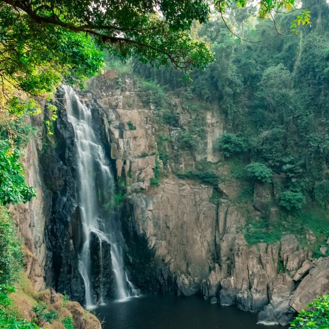 """""""Haew Narok Waterfall at Khao Yai National Park, Thailand"""" stock image"""