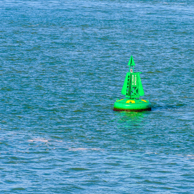 """""""North Thorn Buoy"""" stock image"""