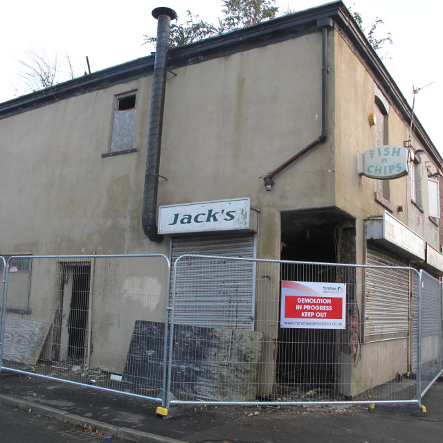 """Jack's Corner Shop"" stock image"