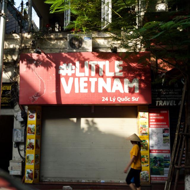 """Little Vietnam"" stock image"