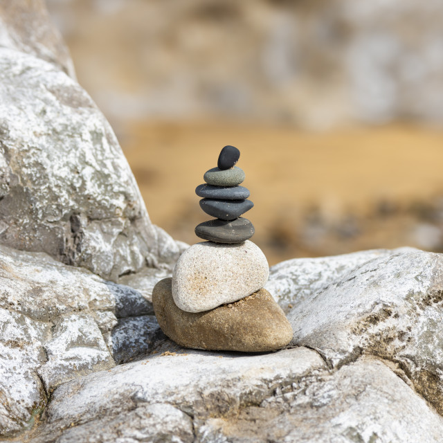"""""""Rock Stack 2"""" stock image"""