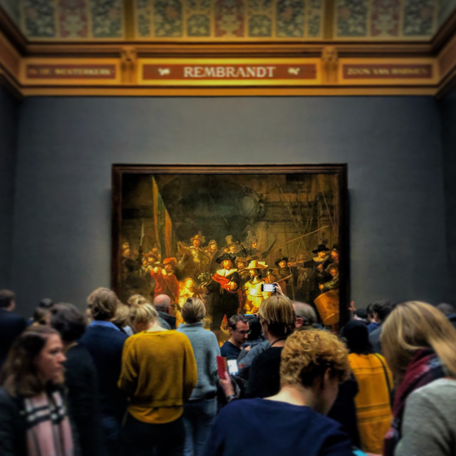 """The Night Watch, Rijksmuseum"" stock image"