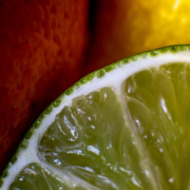 """Orange, Lemon & Lime"" stock image"