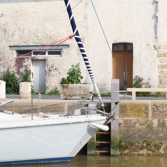 """Sailboat in France"" stock image"